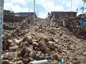 Ayacucho: comunidades aisladas por caída de huaico en Lucanas