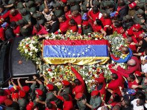 Así se realizaron las exequias de Hugo Chávez