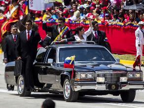 Maduro encabeza homenaje a Chávez junto a presidentes de Cuba y Bolivia