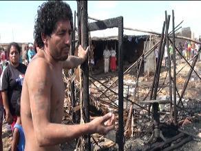 Chimbote: hombre muere electrocutado al limpiar escombros de incendio