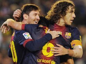 Messi dice que extrañará a Puyol en el vestuario de Barcelona