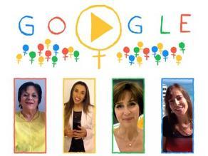 Google celebra el Día de la Mujer y les dedica doodle