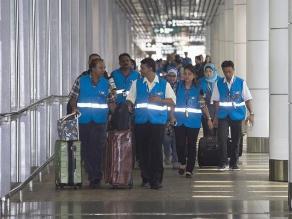 Nervios entre los familiares de los desaparecidos del vuelo