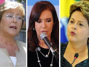 Mujeres al poder: 6 mujeres serán presidentas en Latinoamérica en 2014
