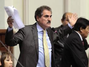 Arbizu: Gagó podría enfrentar desafuero y eventual sanción penal