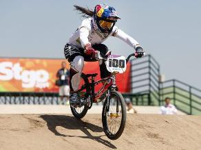 Mariana Pajón imparable ganando oro en ciclismo BMX de Sudamericanos