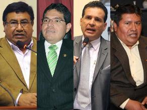 Lay: 10 legisladores sancionados por infracción a la ética parlamentaria