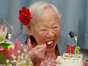 Misao Okawa, la mujer más anciana del mundo cumplió 116 años