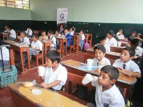 Chiclayo: 90 mil niños se quedaron sin desayunos escolares