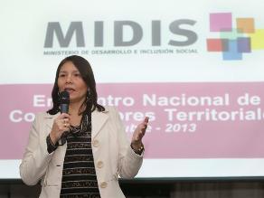 Ministra de Desarrollo e Inclusión Social apertura año escolar en Puno