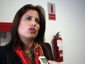 Ministra Omonte pide dar sus descargos a Comisión de Ética