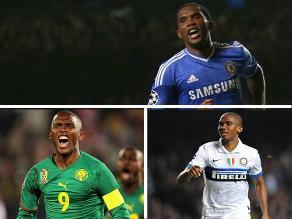 Camerunés Samuel Eto´o cumple 33 años y sigue vigente en el fútbol mundial