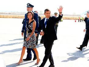 Presidente Humala llega a Chile para investidura de Michelle Bachelet