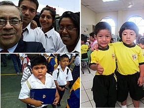 Nuestros seguidores comparten fotos del primer día de clases