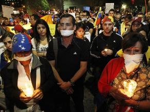 Chile: Protesta contra Maduro antes de la investidura de Bachelet