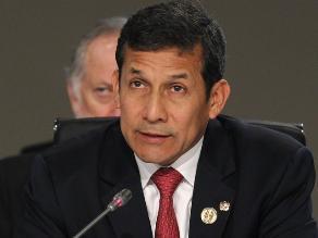 Humala: Chile y Perú están cumpliendo los plazos de ejecución del fallo
