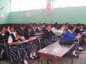 La Oroya: 78 % de alumnos retoman clases escolares