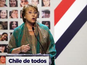 Michelle Bachelet: Juntos podemos derrotar la desigualdad en Chile