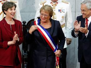 Michelle Bachelet asume segundo periodo como presidenta de Chile