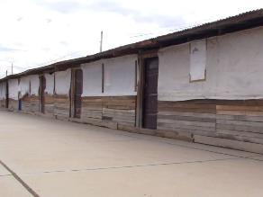 Huancayo: niños reciben clases en aulas de madera y tecnopor