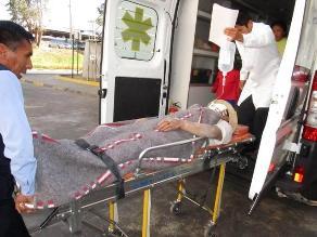 Huamachuco: con pico de botella desfiguran el rostro a joven