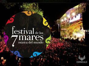 Festival 7 Mares suma huayno y santiago a la propuesta
