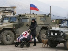 G7 pide a Rusia que abandone los intentos de anexionarse Crimea