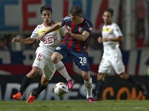 San Lorenzo y Unión Española empataron 1-1 por Copa Libertadores