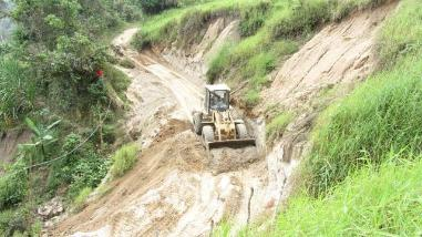 Chiclayo: lluvias en Incahuasi interrumpen paso en trochas carrozables