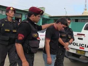 Arrestan a ladrón de vehículos en Villa María del Triunfo