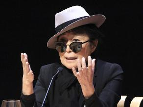 Yoko Ono: Cuando murió John Lennon decidí afrontar la vida con alegría