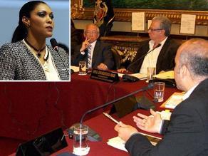 Cenaida Uribe no se presentó en Ética: Pidió más tiempo a comisión