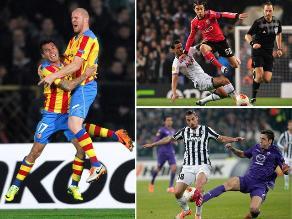 Repase todos los resultados de octavos de final en Europa League