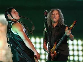 Metallica inicia en Bogotá gira por Latinoamérica