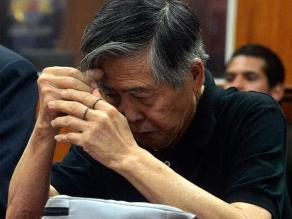 Fujimori fue llevado a clínica para ser sometido a resonancia magnética