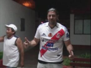 Sergio ´Checho´ Ibarra se lució con la camiseta del José Gálvez en Chimbote