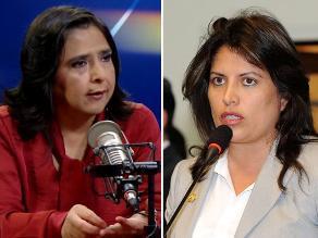 Jara defiende a Omonte: Ministra tiene el respaldo del Gabinete