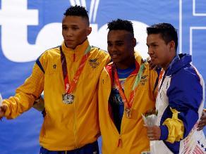 Odesur 2014: Colombia ganó la medalla de oro en levantamiento de pesas