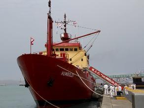 BIC Humboldt retorna a Perú tras casi tres meses en la Antártida