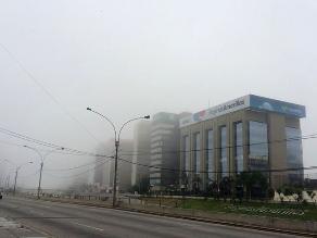 Imágenes: Lima vuelve a amanecer bajo un manto de neblina en verano