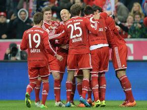 Bayern Munich sin Claudio Pizarro ganó 2-1 al Leverkusen por Bundesliga
