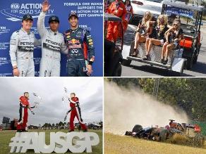GP de Australia: Mira las mejores imágenes de la jornada de clasificación