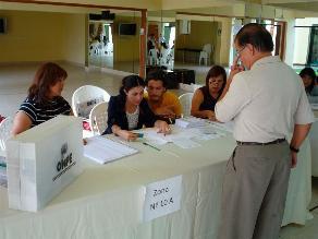 Normal desarrollo de elecciones en Arequipa, Chiclayo y Trujillo