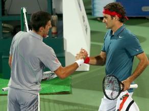 Djokovic y Federer se ven las caras en Indian Wells en final de infarto