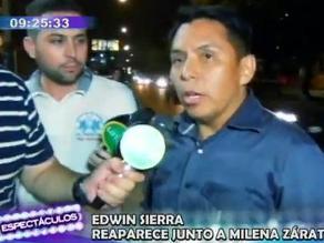 Edwin Sierra fuera de Lima por