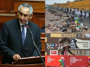 Pasó en la semana: Gabinete Cornejo no tuvo voto de confianza del Congreso, Municipalidad de Lima realiza rescate sanitario de La Parada y Perú no formará parte del recorrido del Dakar 2015