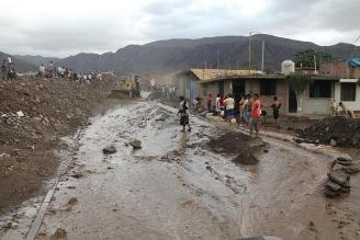 La Libertad: viviendas afectadas y vehículos varados por huaico