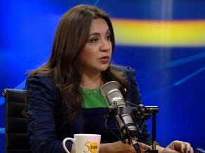 Marisol Espinoza: con voto de confianza ´ganó la democracia´