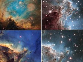 Grandes hallazgos del telescopio Hubble a 24 años de su creación