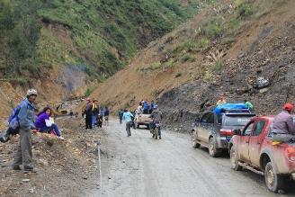Pataz: 15 mil pobladores aislados por lluvias en Tayabamba